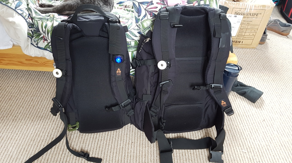 Mystery Ranch Urban Assault and 3 Day Assault Pack