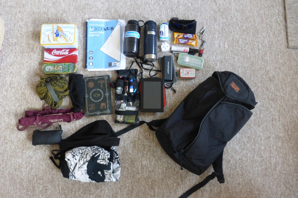 Mystery Ranch Urban Assault EDC bag dump