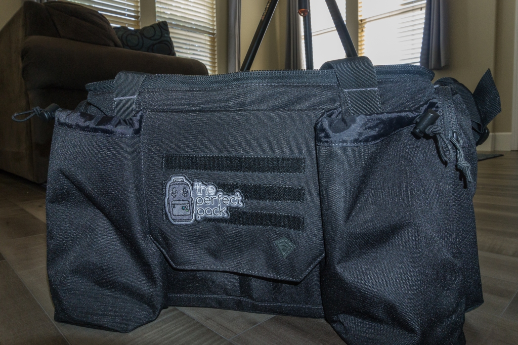 First Tactical Guardian Patrol Bag - Close up front shot