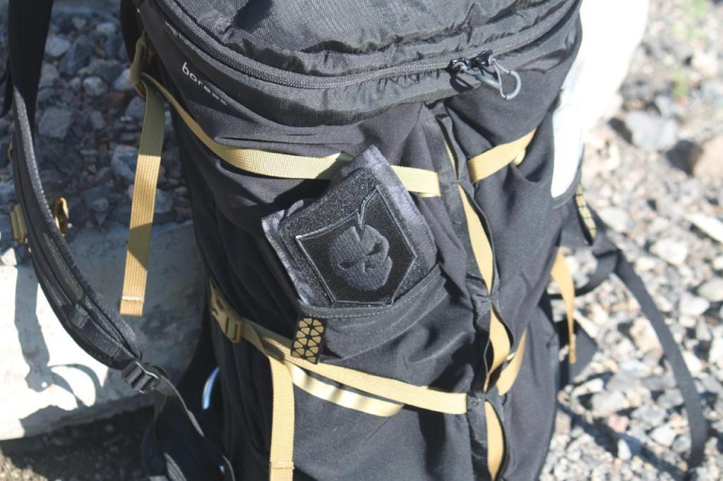 Boreas bootlegger review hopper side strech pocket