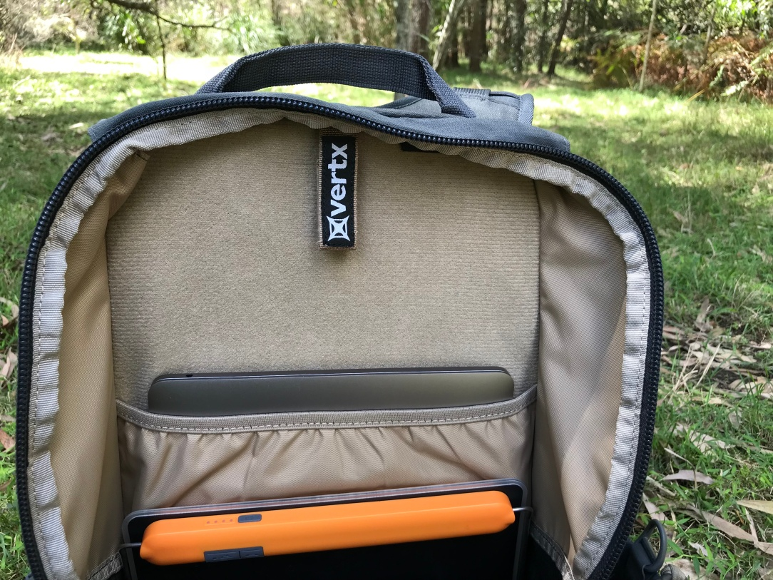 Vertx EDC Ready Pack Review Laptop Pocket