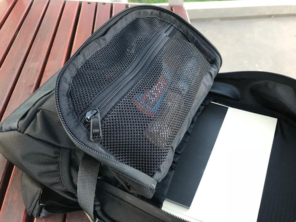 Arktype Dashpack Review Mech Pocket