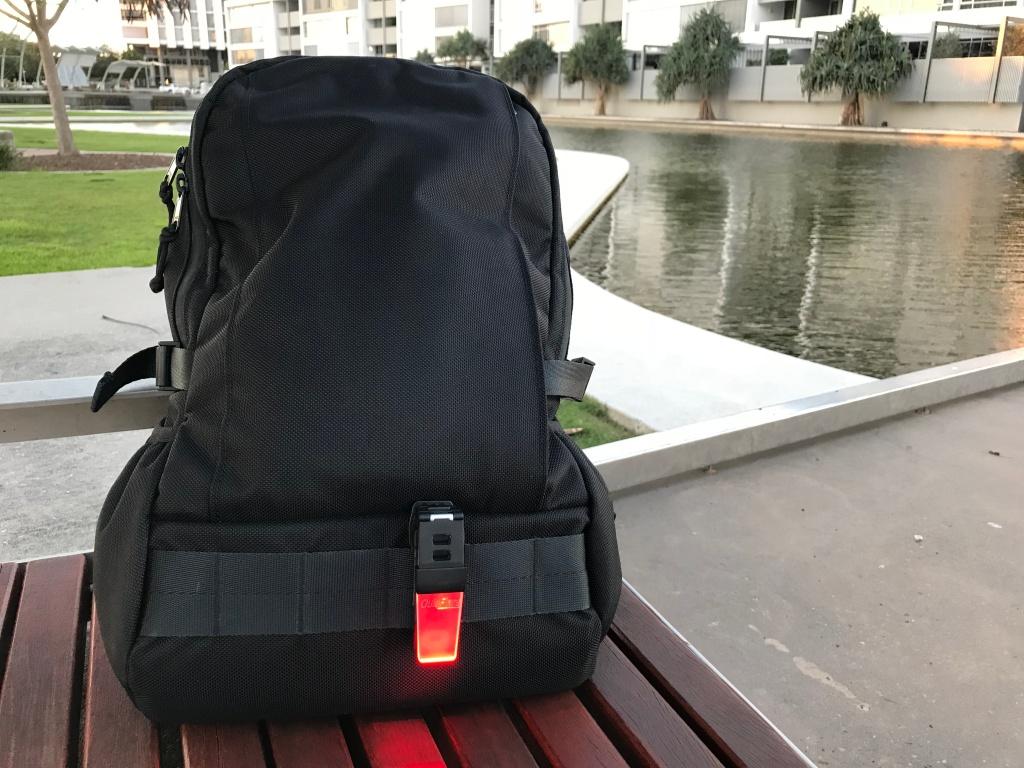 Arktype Dashpack Review Quiklite Front