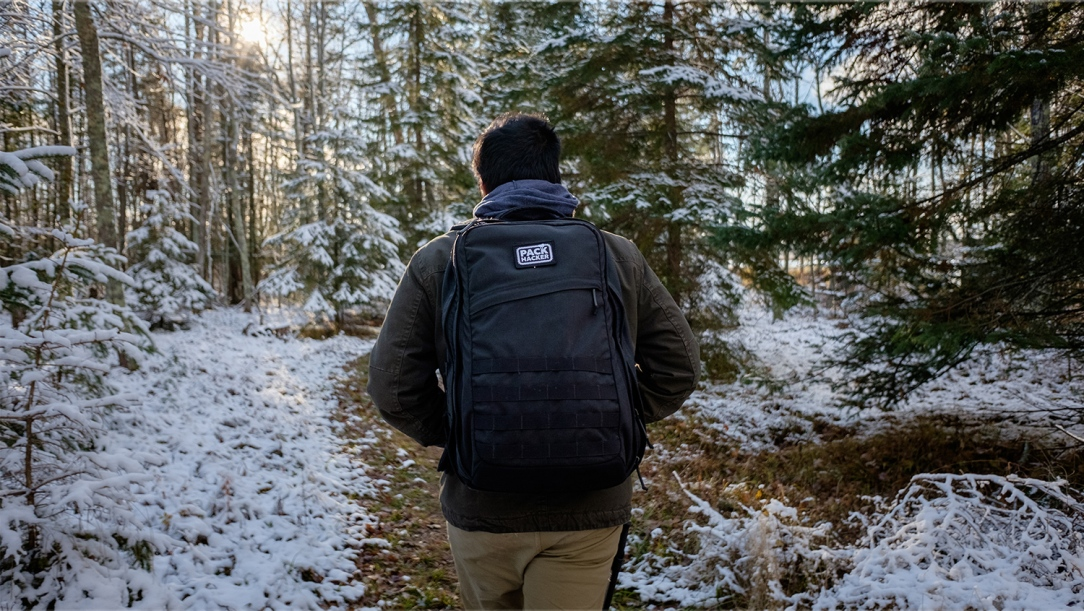 The GORUCK GR2 in Backus, Minnesota