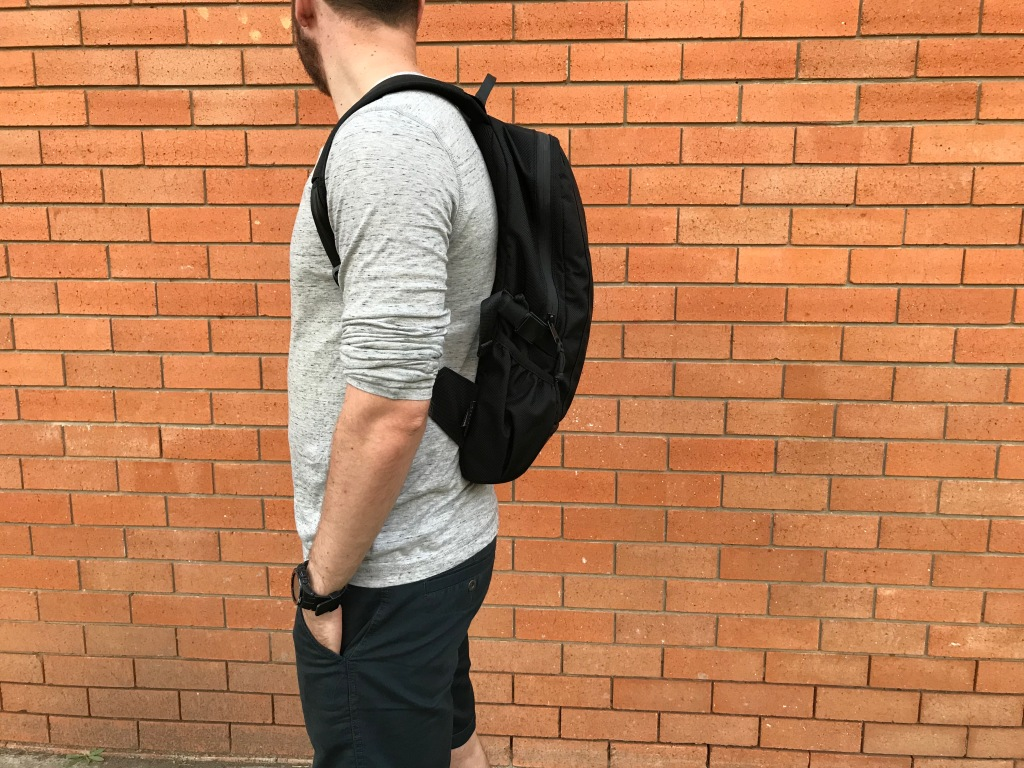 Arktype Dashpack Review Fit Side View