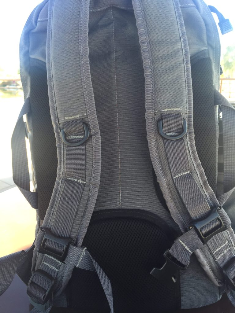 GWA Citadel Review Back Shoulder Straps