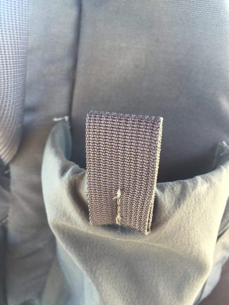 GWA Citadel Review Bottle Pocket Tab