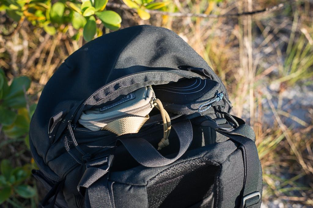 Camelbak Trizip Review Top View