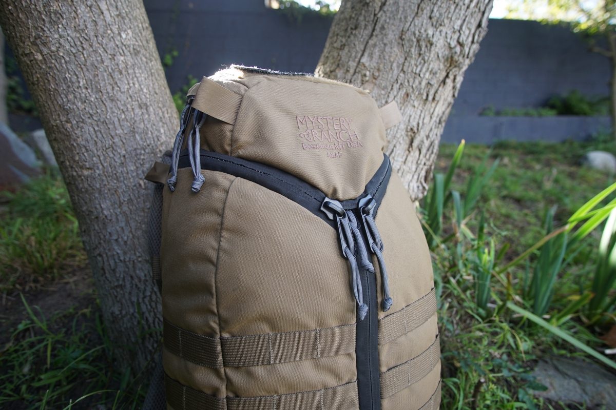 Mystery Ranch ASAP backpack review main logo shot