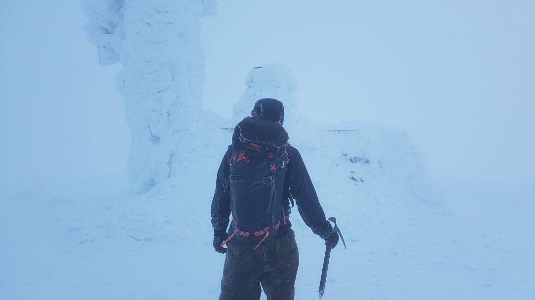 Bergans Helium Pro 40 Backpack winter hike