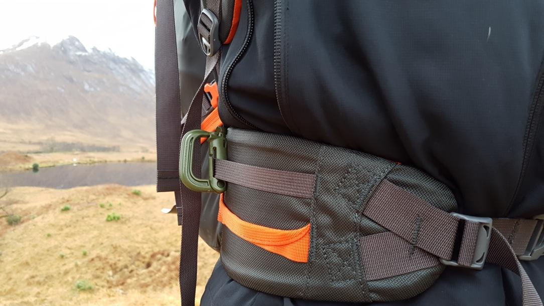 Bergans Helium Pro 40 Backpack waist belt