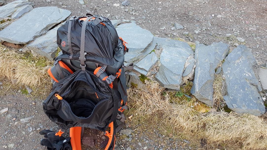 Bergans Helium Pro 40 Backpack depth