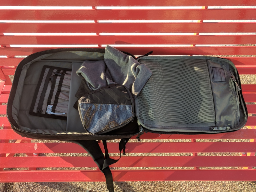 EVERGOODS Civic Panel Loader 24 backpack review