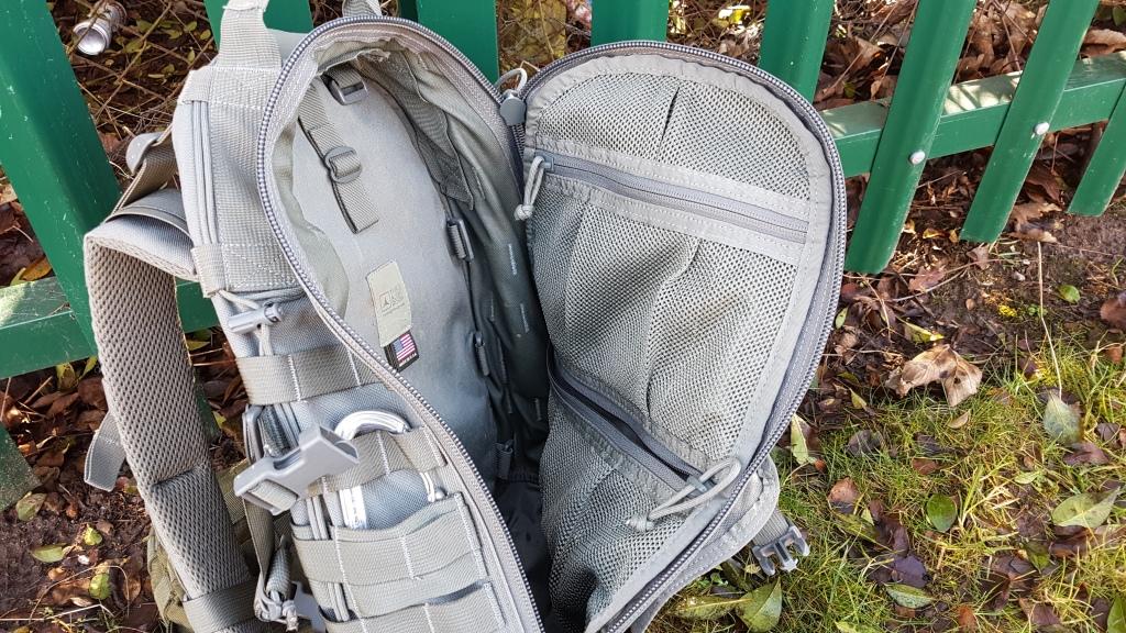Triple Aught Design Fastpack Litespeed V2 internal organisation mesh pockets