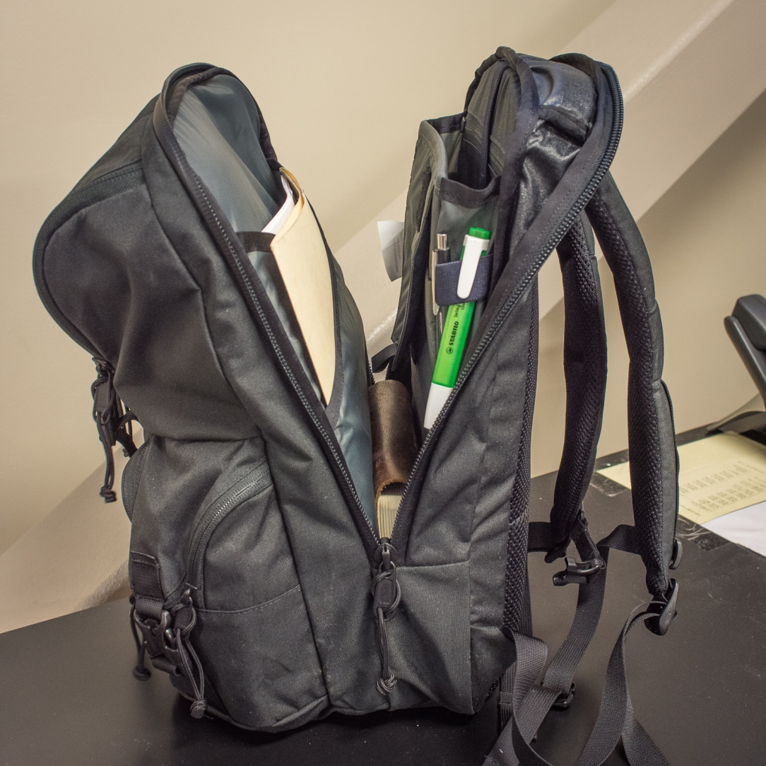 ee3966e35b4fa Mystery Ranch Rip Ruck Backpack review laptop compartment opening length