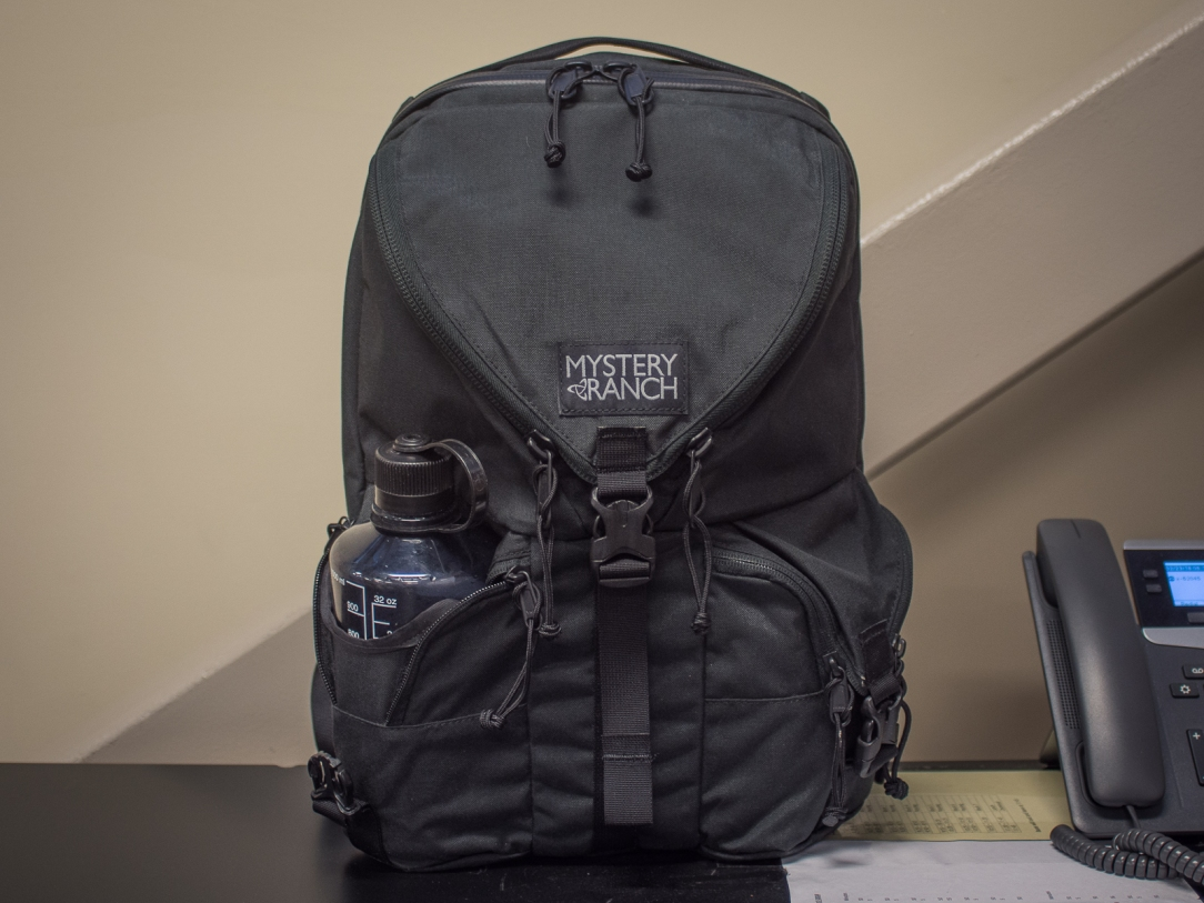 Mystery Ranch Rip Ruck review front shot
