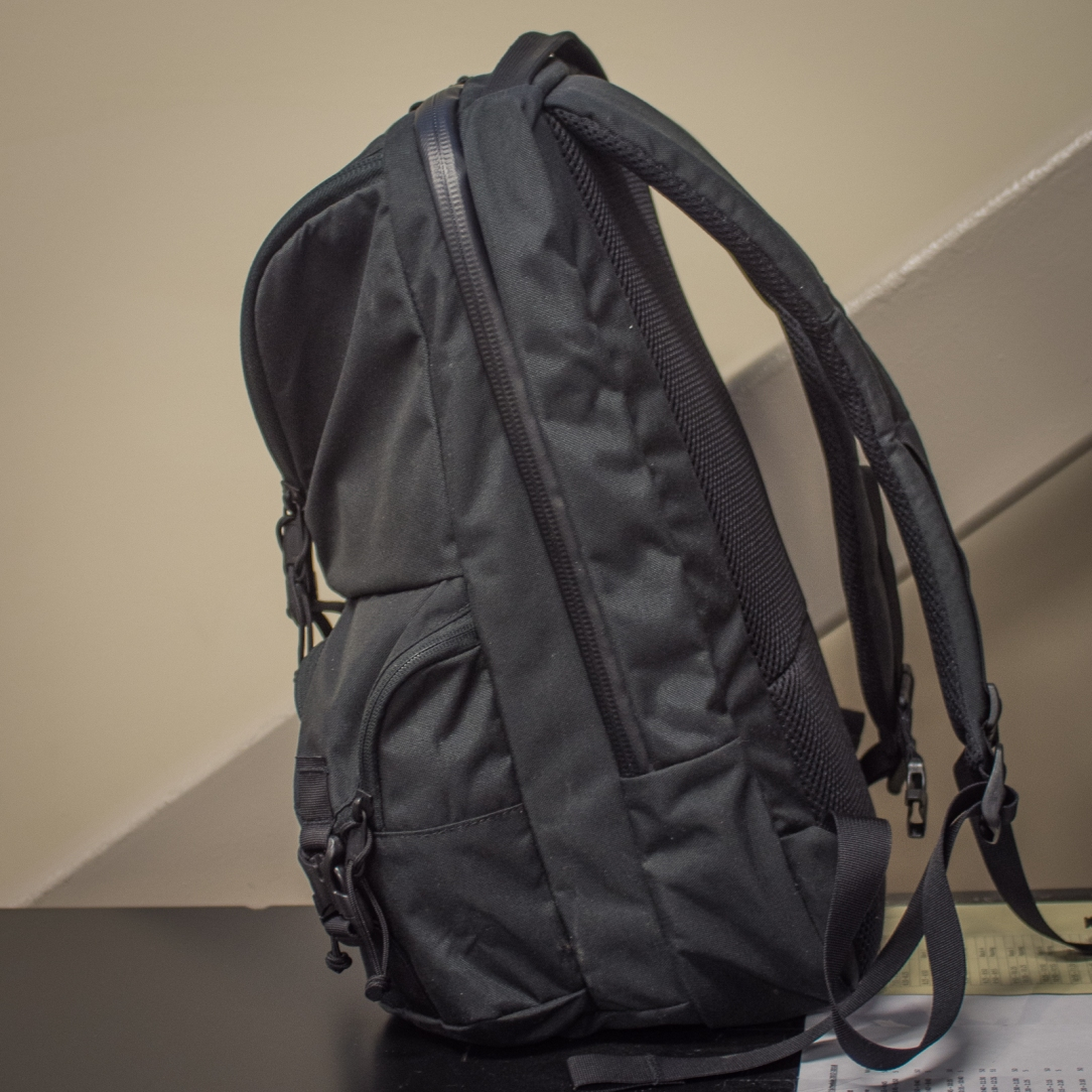 Mystery Ranch Rip Ruck review side profile
