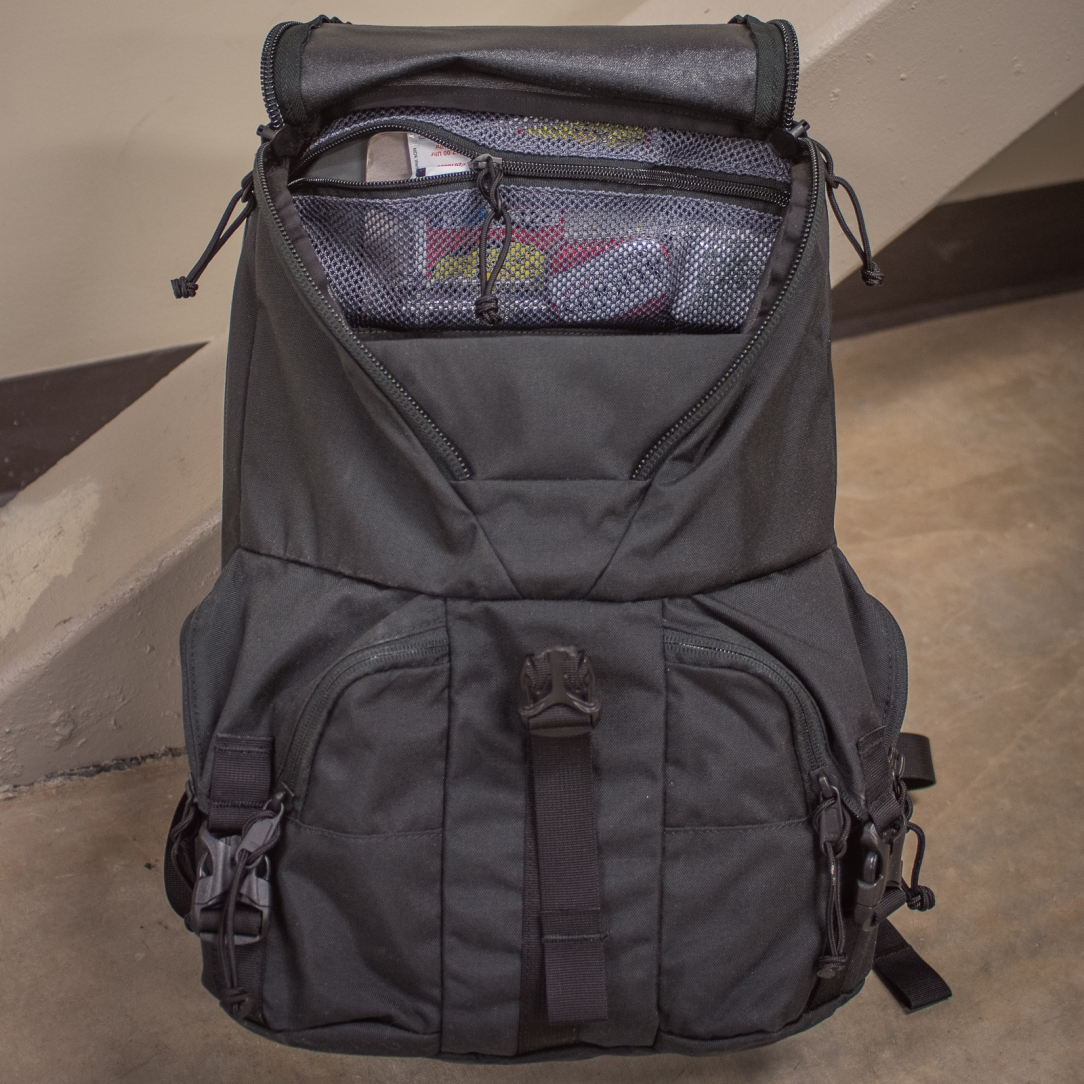 f3b99a77b3f52 Mystery Ranch Rip Ruck Backpack review main compartment zippered pocket