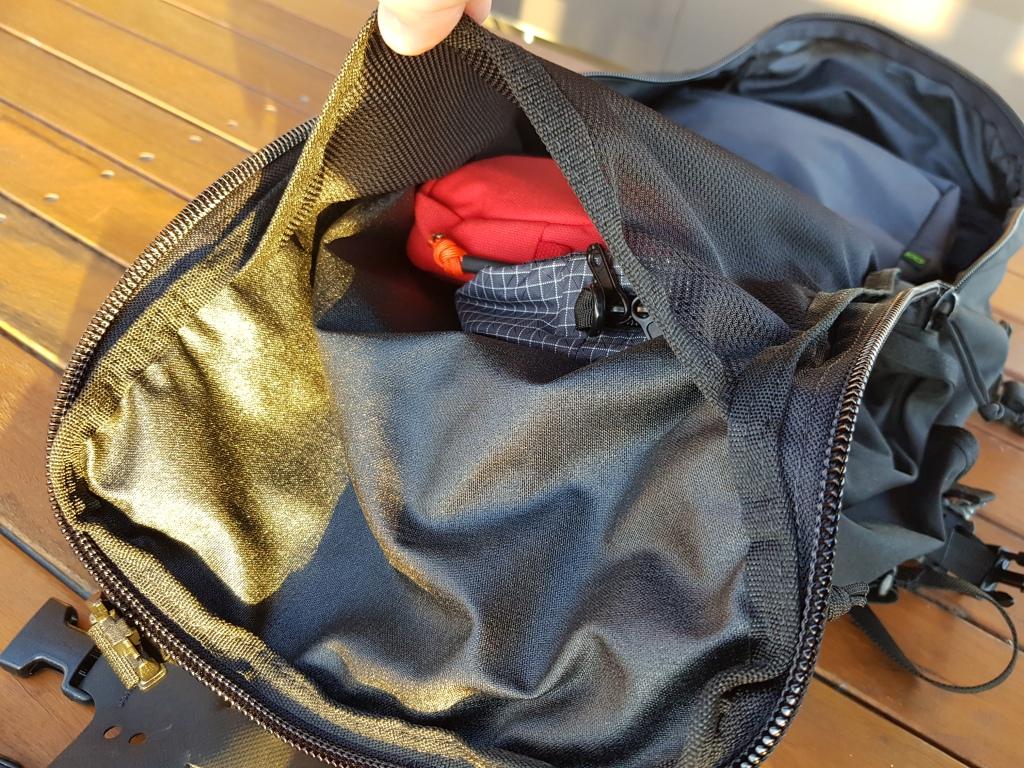 Hill People Gear Aston House Backcountry internal mesh pocket