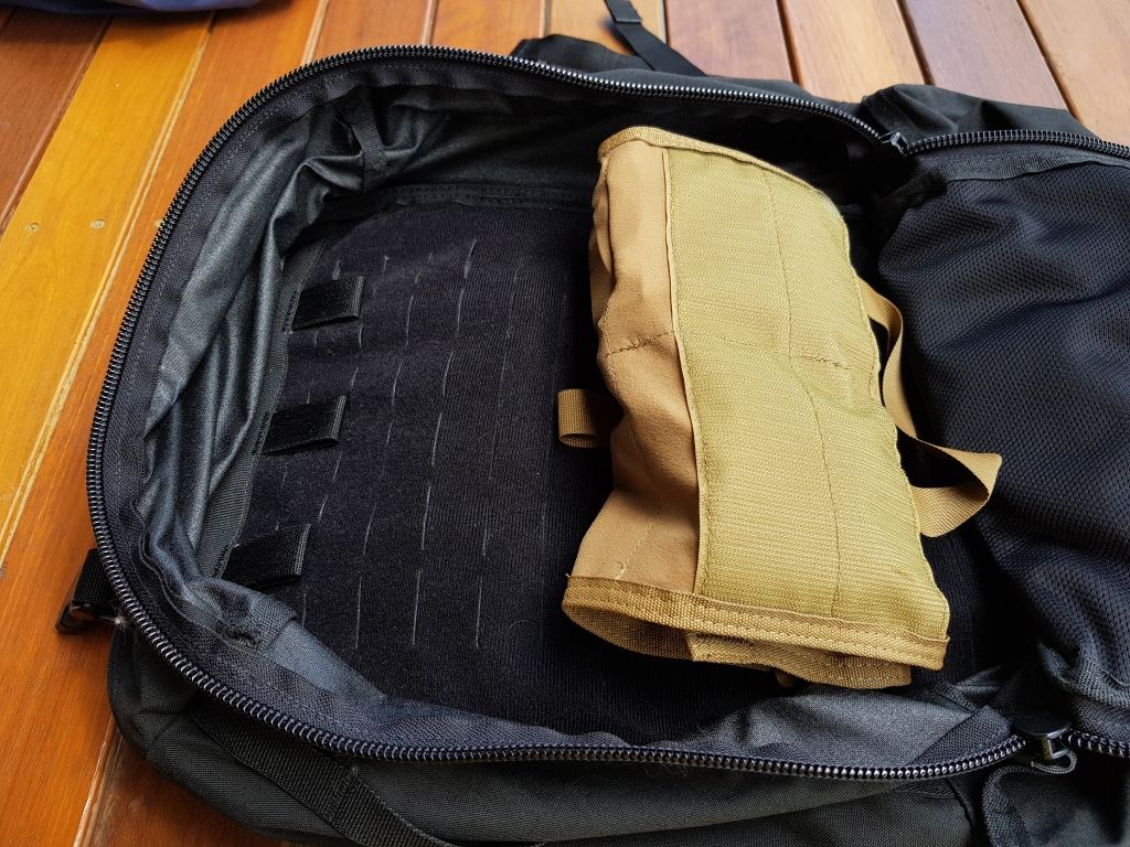 Hill People Gear Aston House Backcountry review pals velcro loop