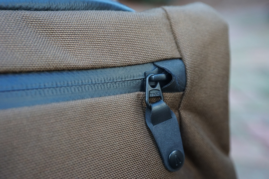 Boundary prima system review quick access pocket aquaguard zipper materials