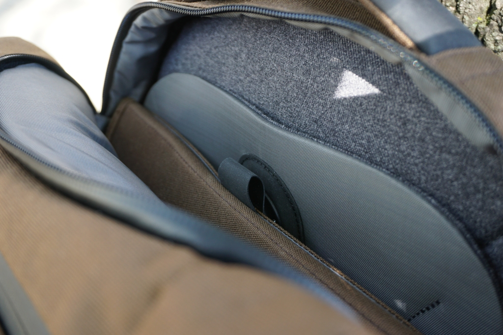 Boundary Supply Prima System laptop sleeve interior