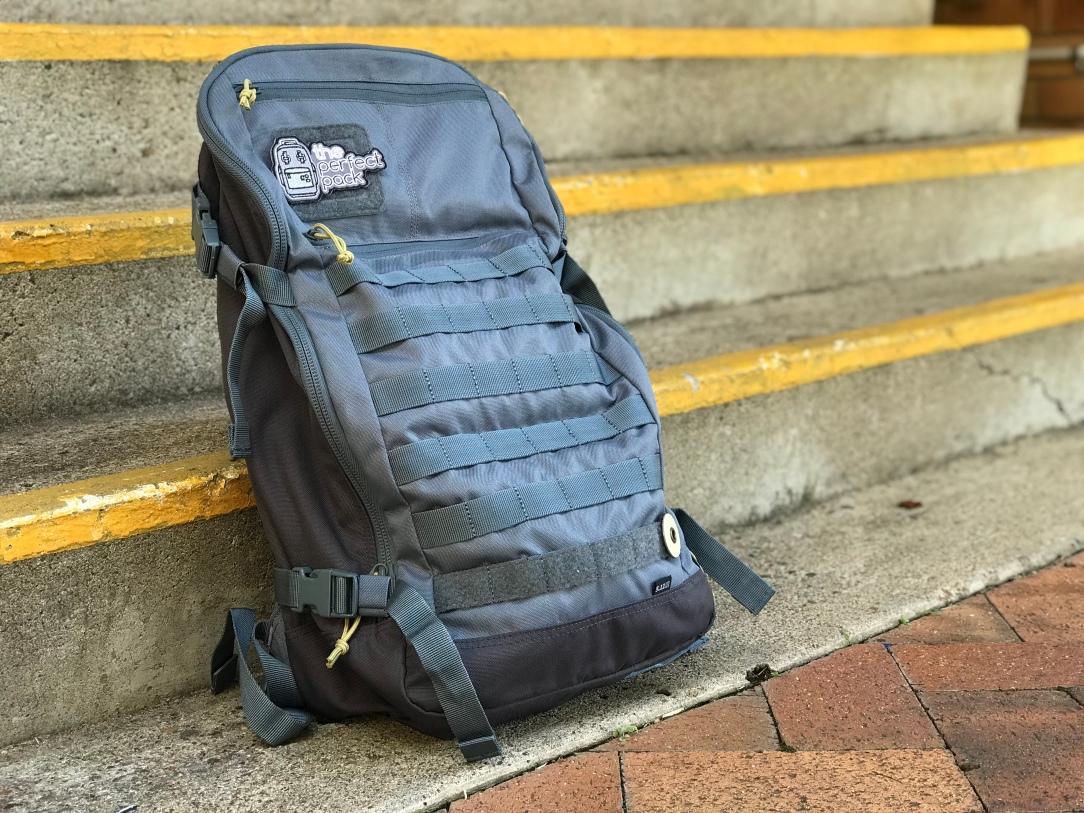 5.11 Quad Zip Pack Front