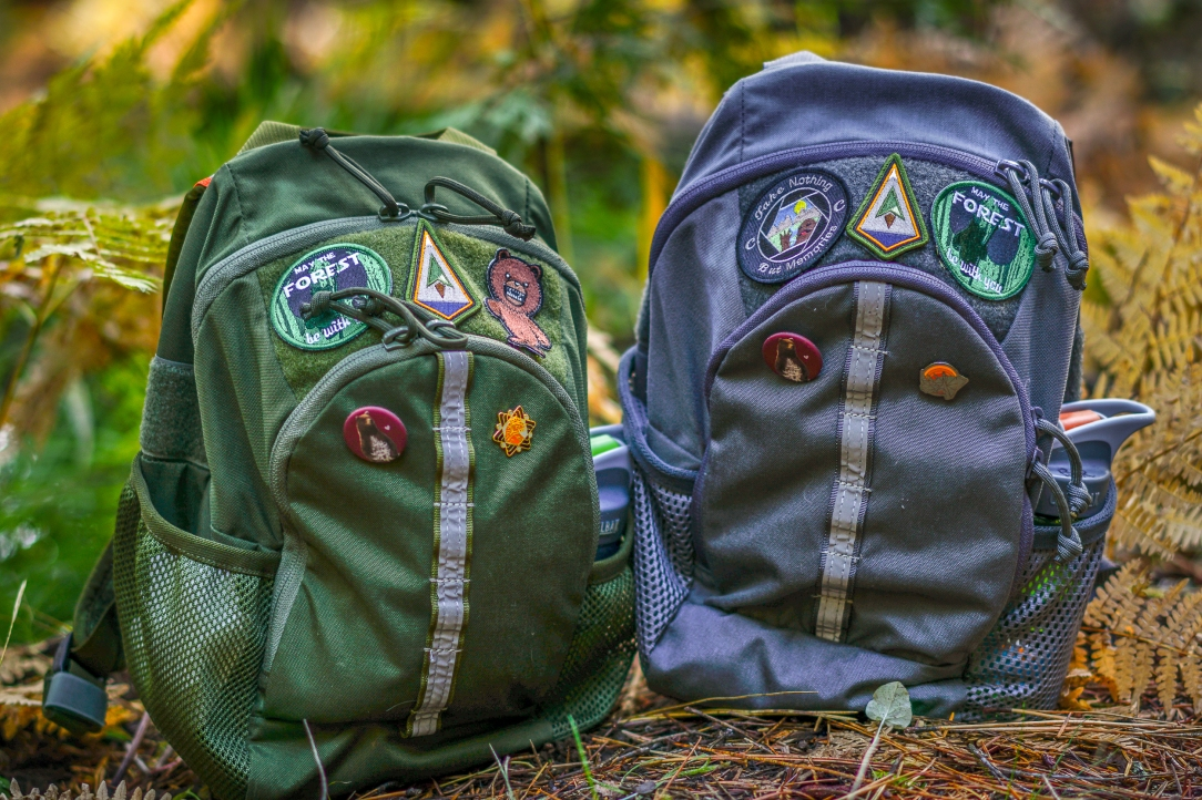 Cub Cubs Cub Ruck backpack review moss green wolf gray