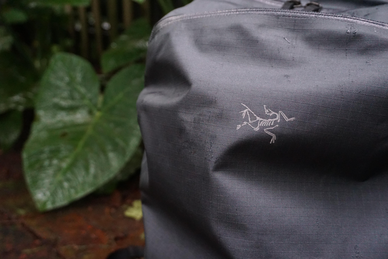 Arc'teryx Granville zip 16 AC2 fabric ripstop material printed deadbird logo