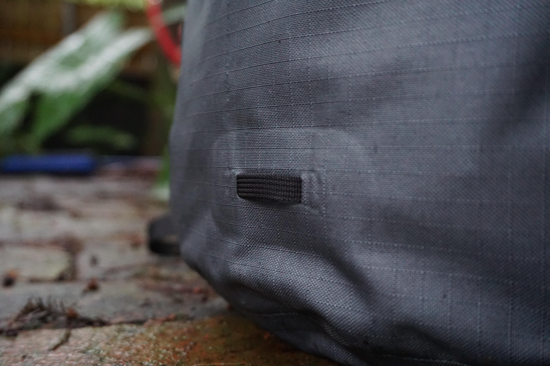 Arcteryx Granville zip 16 backpack review external detail bike light mount