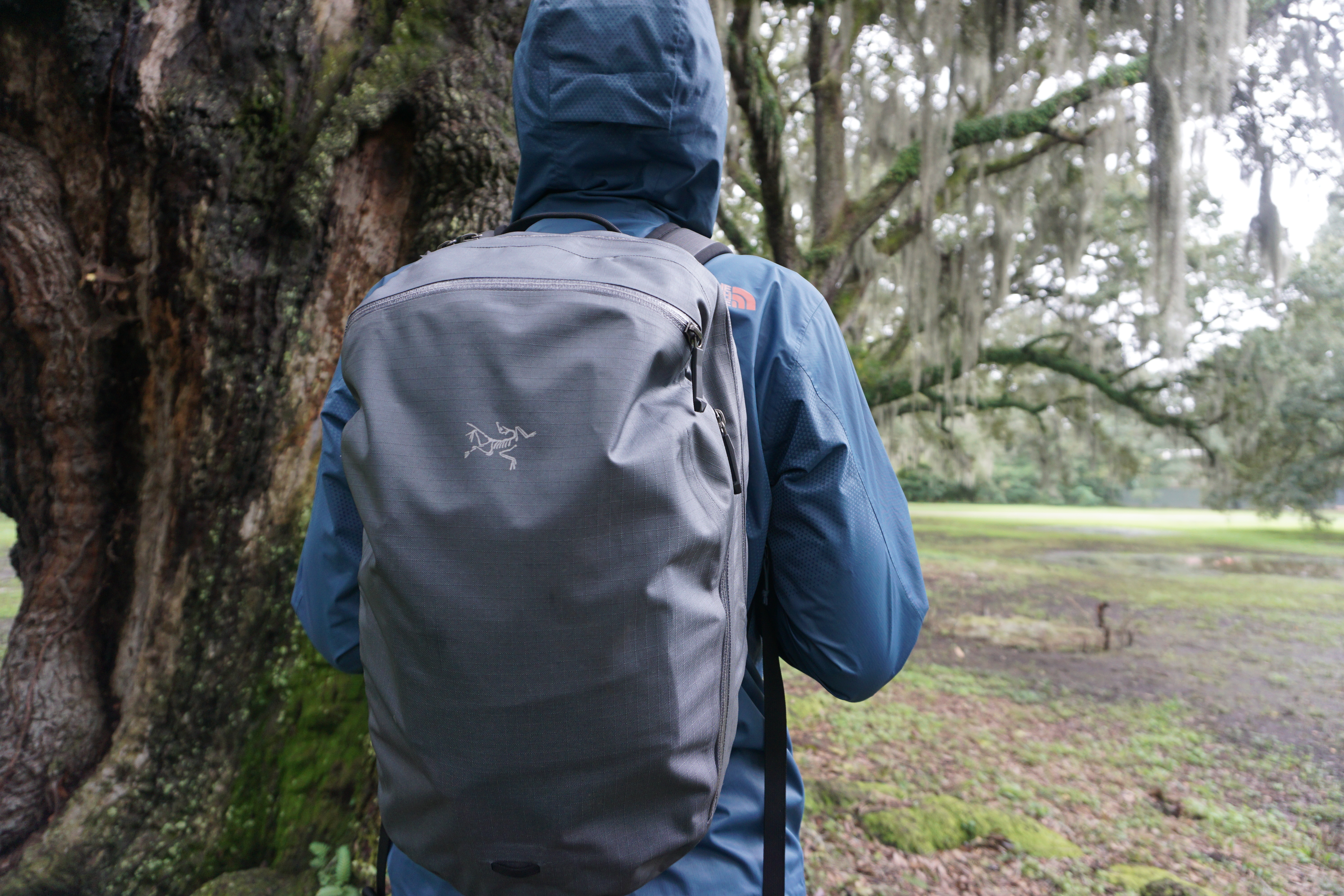 Arcteryx Granville zip 16 backpack review on body dry bag
