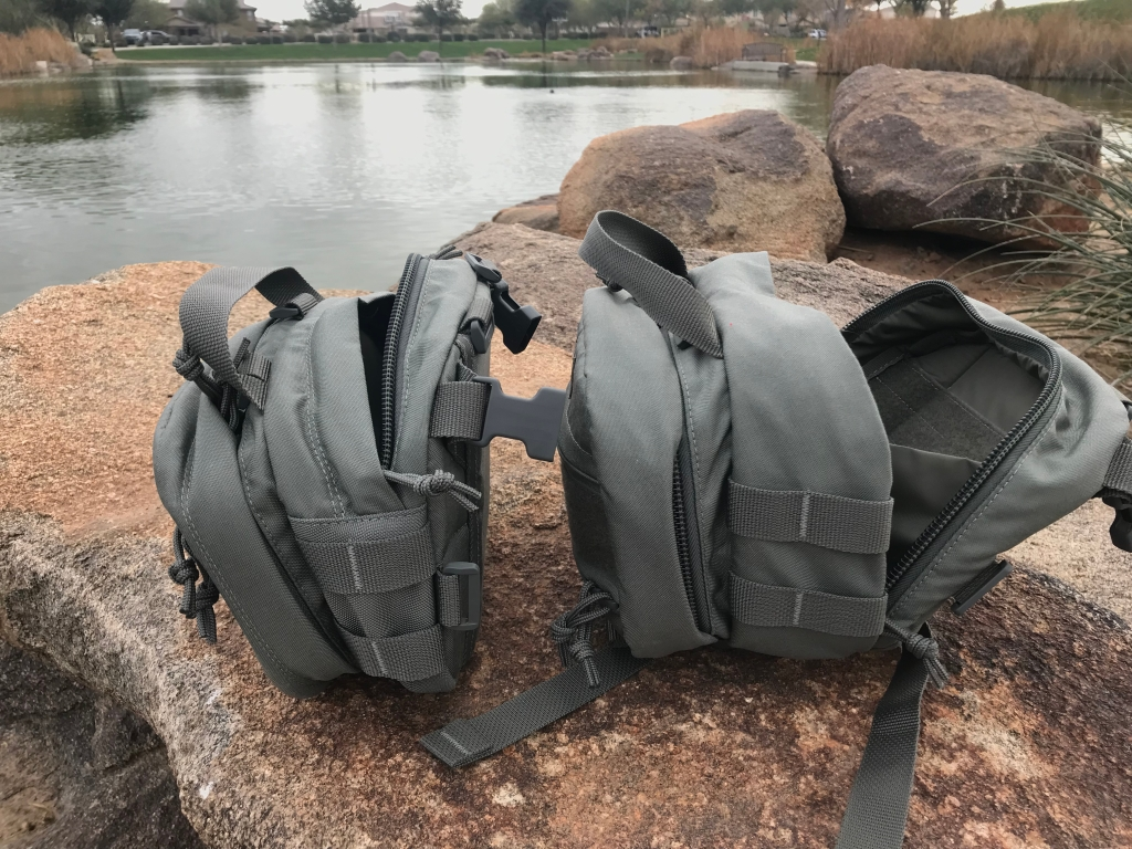 Sarma Custom Mini Torba bag review zippers open detail pals webbing side view