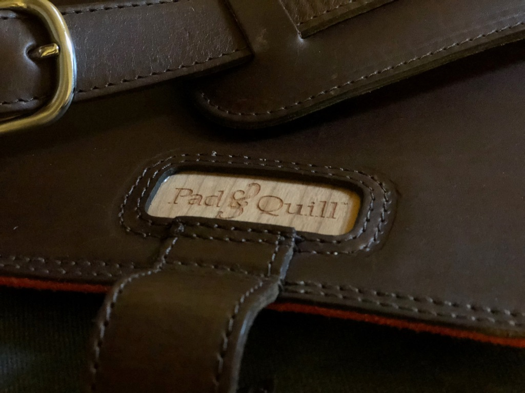 Pad & Quill Field Bag Review logo