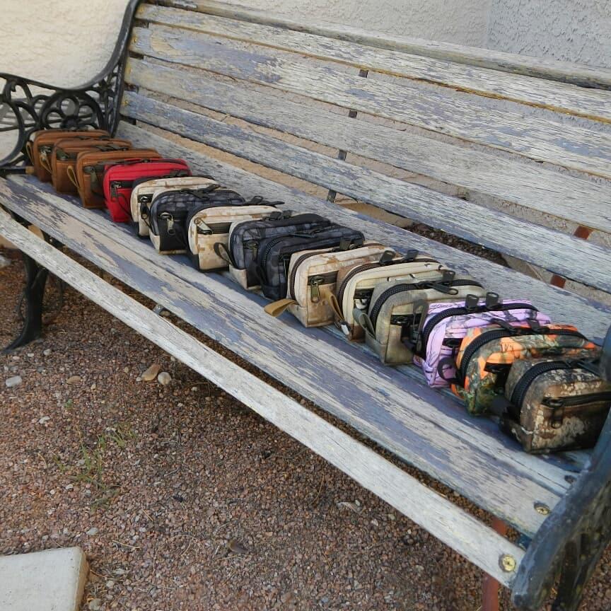 Provision Handmade Gear pouch lineup