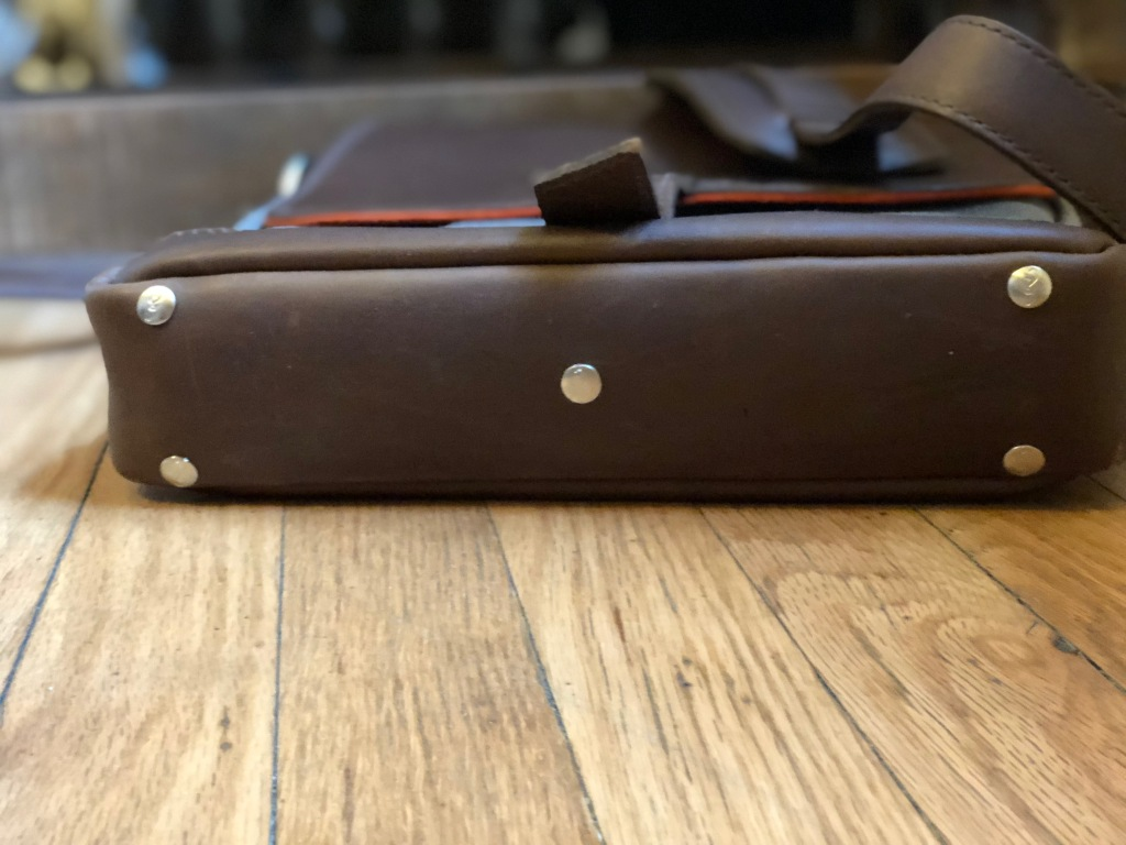 Pad & Quill Field Bag Review bottom of bag