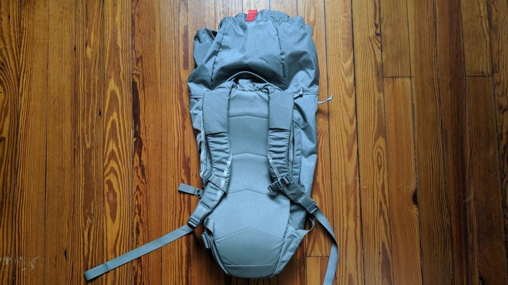 EVERGOODS MQD24 straps and back padding