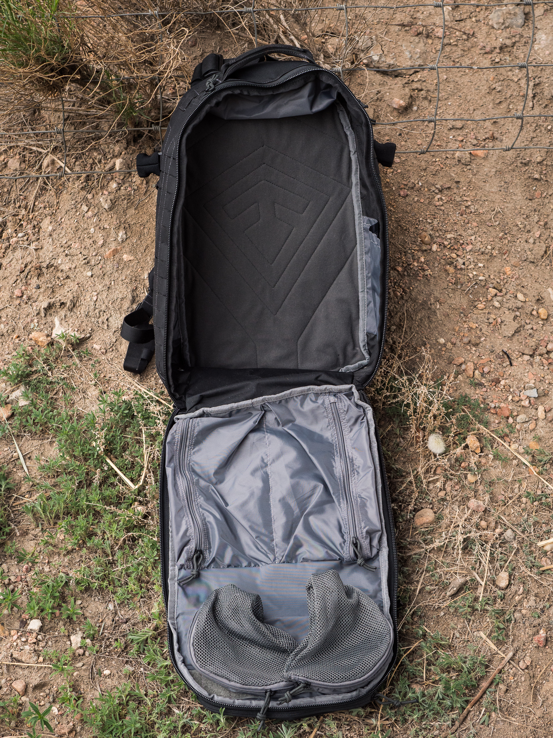 Tactix 1 Day Plus internal main compartment