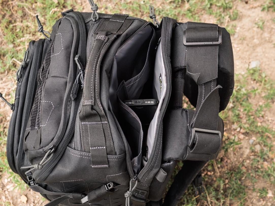 Tactix 1 Day Plus back pocket