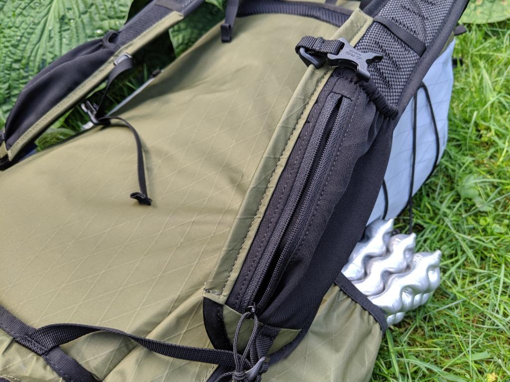 Drop Dan Durston 40L stretch pocket