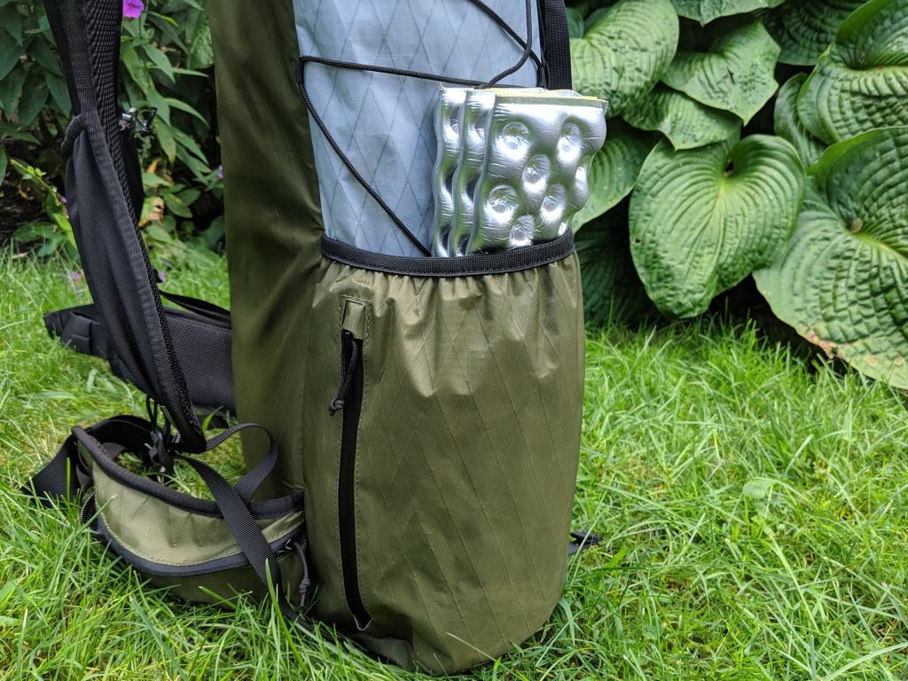 Drop Dan Durston 40L side pocket quickpocket