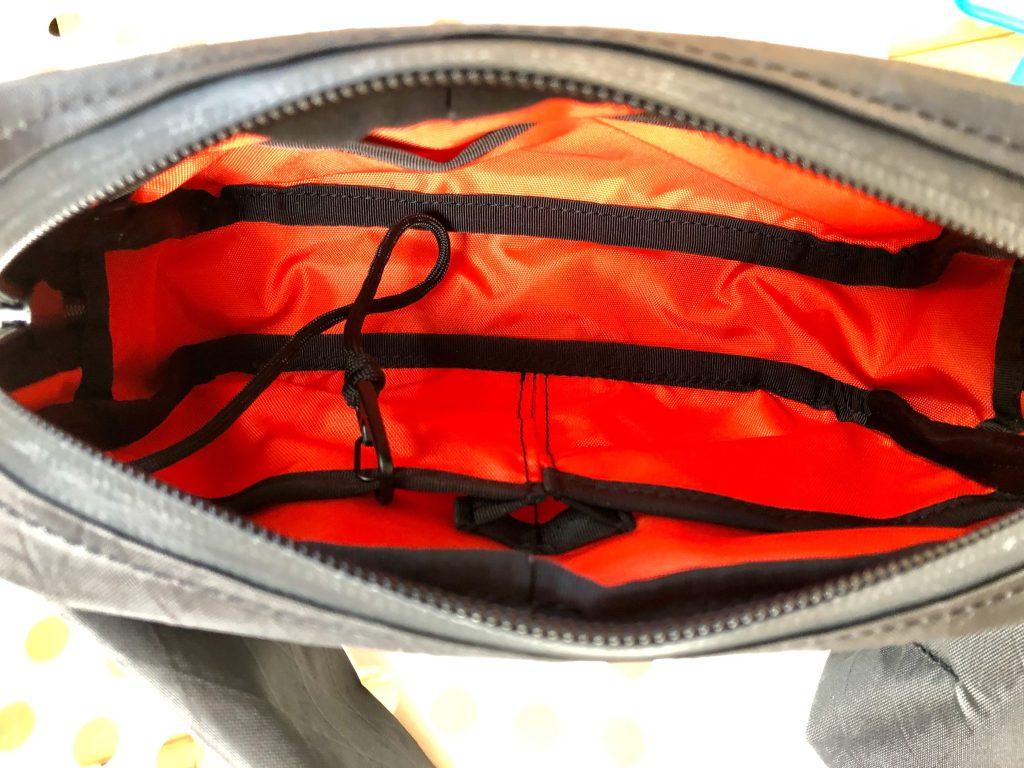 934 Bagworks Fanny Pack internal organization