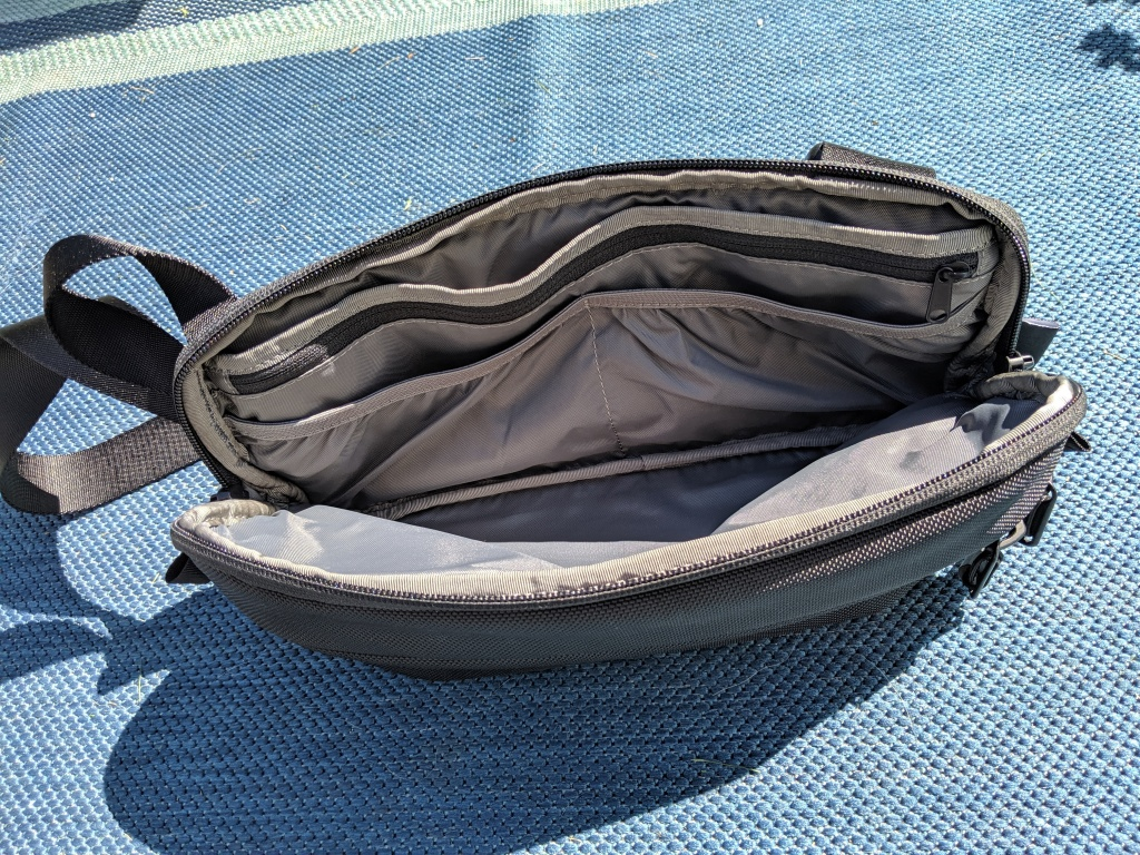 Aer Day Sling main compartment