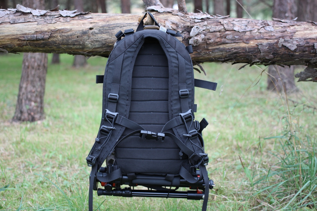 Hill People Gear Tarahumara Review back of pack with harness