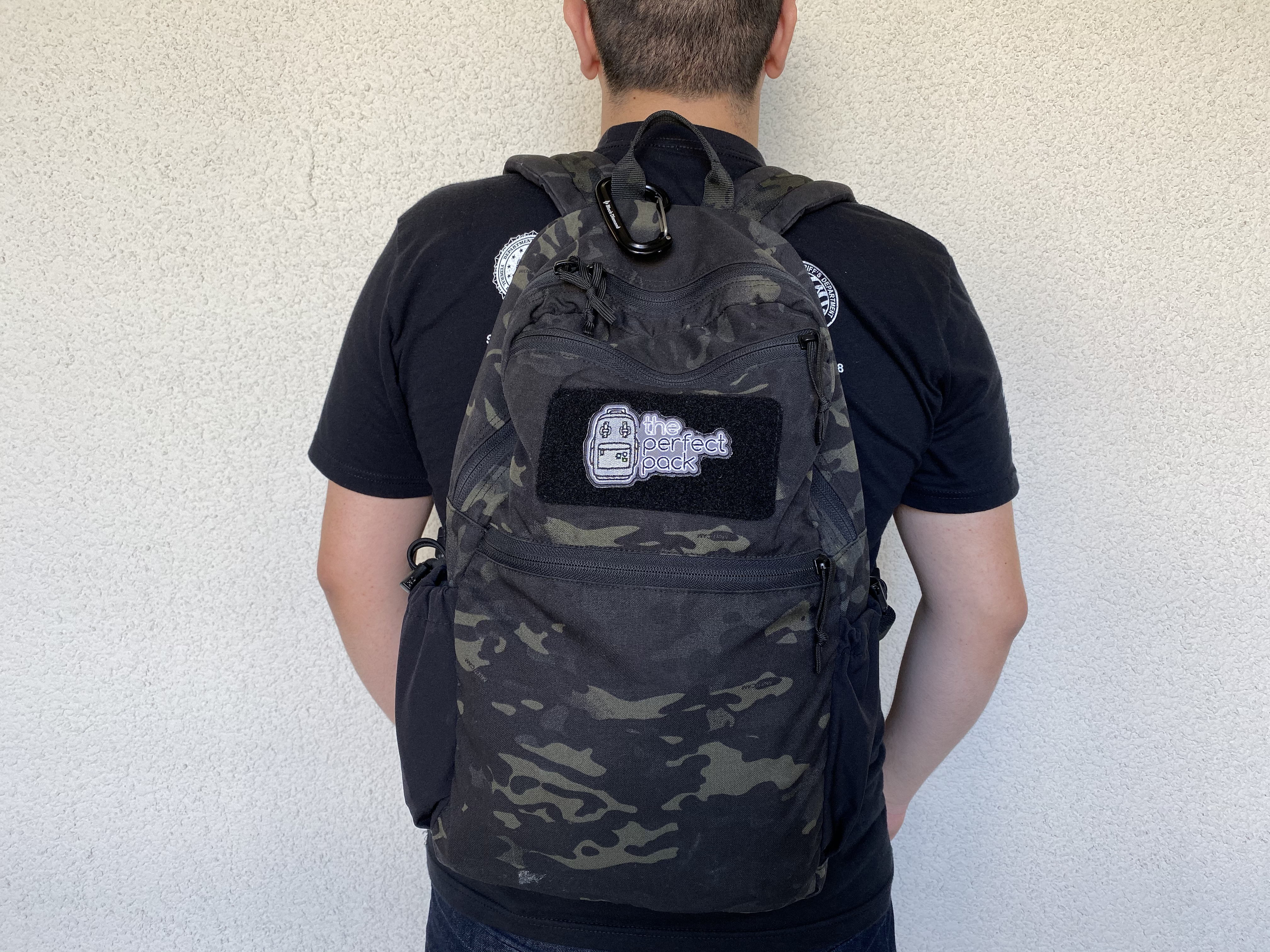 LBD 8005A Day Pack Review wearing on back
