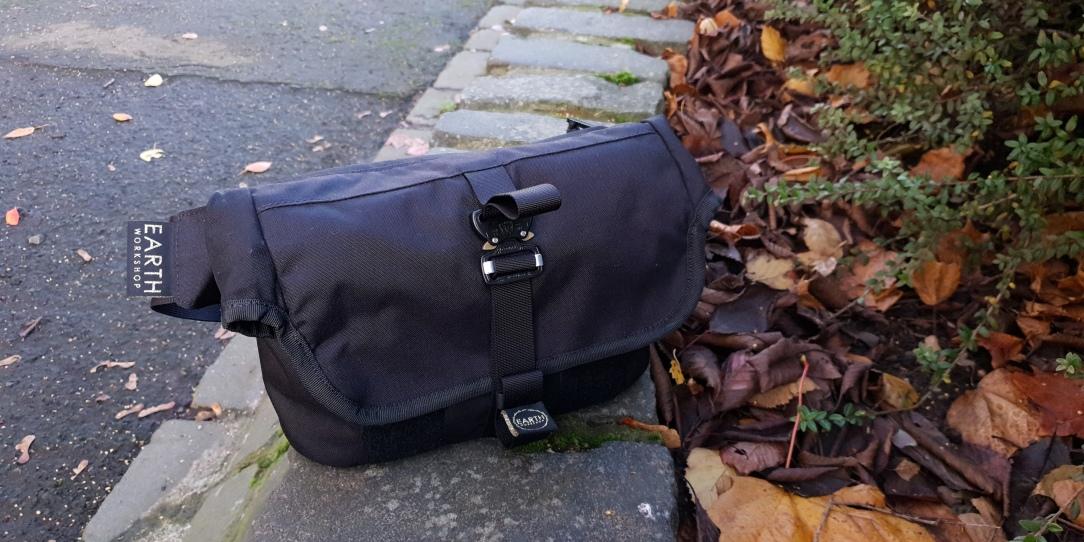 Earth Workshop Studio Everyday Sling Bag review outside cobra buckles black