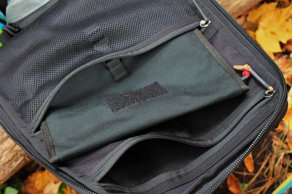 goruck gr1 review wire dopp mesh internal pocket