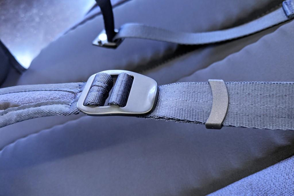 Bellroy Transit Review metal strap adjustment hardware