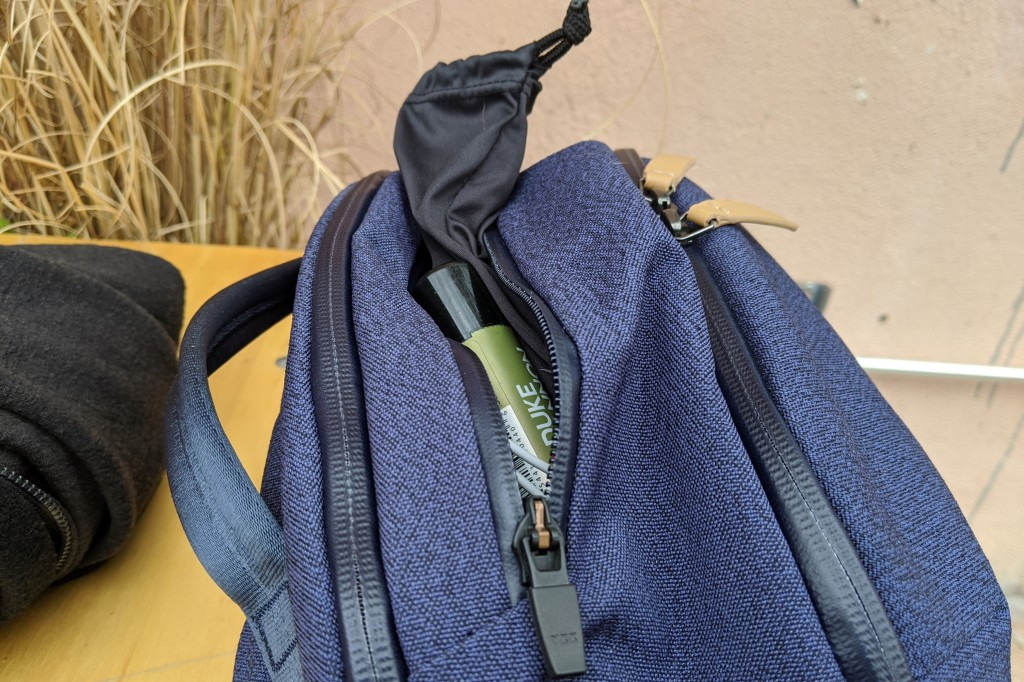 Bellroy Transit Review top quick access pocket