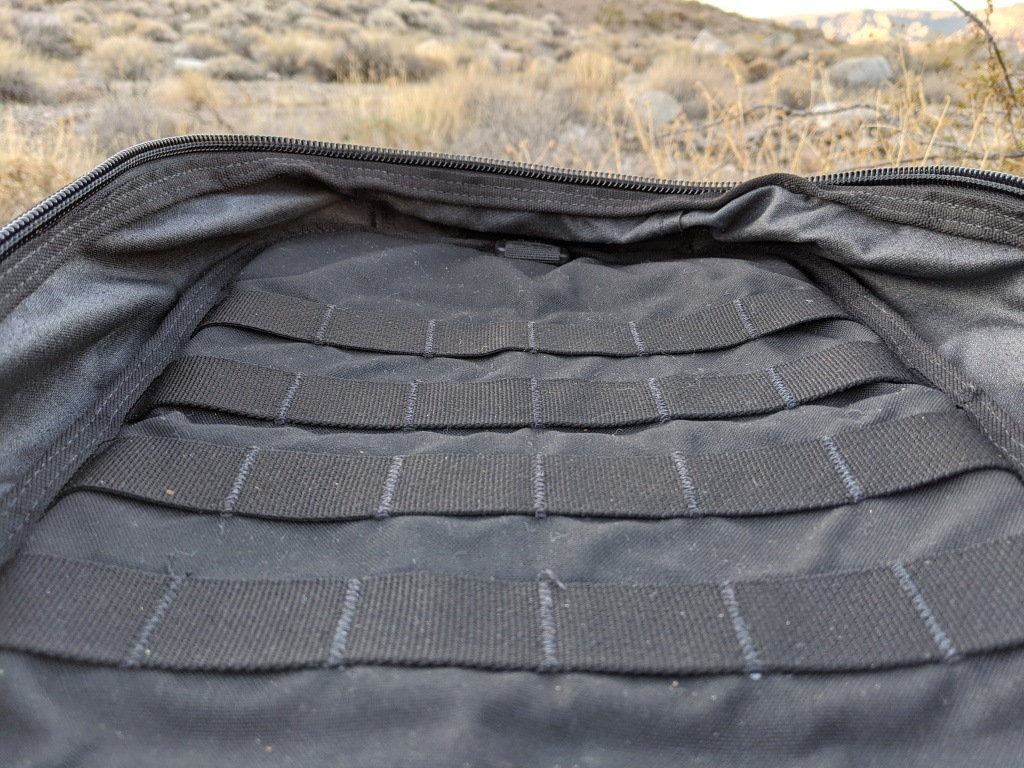 Duo Hoplite MPC Eclipse Review molle pals interior